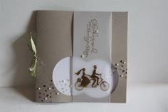 Hochzeitskarte Wedding Wheels