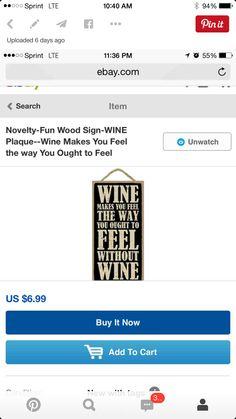 Wine Theme Kitchen, Wine Signs, Make You Feel, How To Make, Wine Making, Conditioner, Ads, Make It Yourself, Feelings