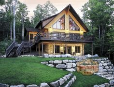 True North Log Homes Aspen III