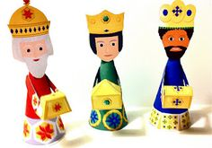 FREE printable The three holy kings #epiphany #HlDreiKönige