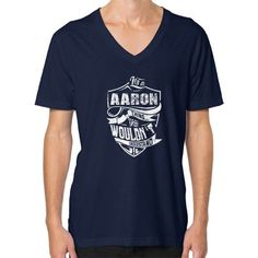 It's A AARON T-shirt Thing You Wouldn't Understand V-Neck (on man) Shirt