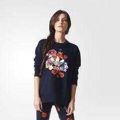 adidas - Floral Sweatshirt