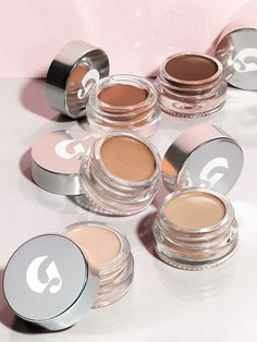 A dewy concealer that looks and moves just like real skin instead of caking on or creasing. Gently dab on to hide dark eye circles or blemishes.