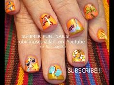 robin moses SUMMER FUN STUFF nail art