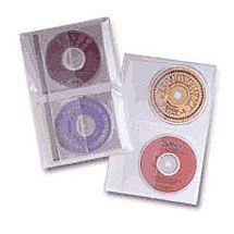 CD/DVD Binder Sheets - 10 Pack for $5.47