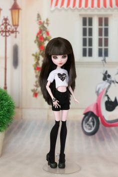 Shorts and top for Monster High doll 1/6 size