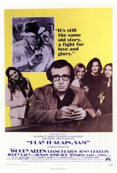 Play It Again, Sam, starring Woody Allen, Diane Keaton, Tony Roberts and Jerry Lacy as Humphrey Bogart. Directed by Herbert Ross. ($19.99)