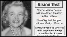 Cool optical illusion|i already see Marilyn Monroe cuz I don't have on my glasses
