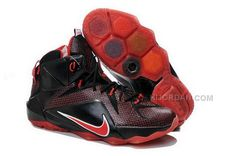 pretty nice 52b99 77b2b Find Nike LeBron 12 Custom Black Red Online online or in Pumarihanna. Shop  Top Brands and the latest styles Nike LeBron 12 Custom Black Red Online of  at ...