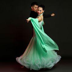 2016 NEW Ladies Modern Waltz Tango Latin Ballroom Competition Dance Dress #S9001