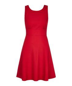 Robin red bow back dress Sale - Louche Sale