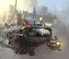 ian mcque concept art - Google Search