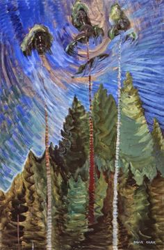 Odds and Ends (oil on canvas) 1939, Emily Carr