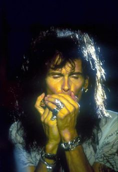 My man, Steven Tyler, playing the harmonica ;)