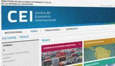 Nuevo sitio del Centro de Economía Internacional | @MRECIC_Arg | #CEI | #EconomiaInternacional