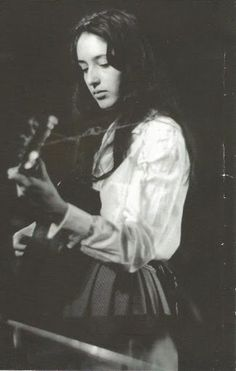 Joan, when very young. Part of the sixties, forever, though her sort of music seems to have gone forever too.
