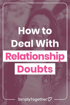 You know that nagging feeling of doubts and uncertainties about your relationship that just won't go away? Well we had it too! Doubts In A Relationship, Trust In Relationships, Healthy Relationship Tips, Relationship Challenge, Relationship Struggles, Healthy Relationships, I Still Love Him, Told You So, How Are You Feeling
