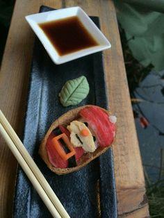 #santa #sushi #christmas  #hohoho