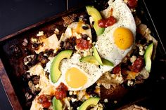 Breakfast Nachos by joythebaker #Nachos #Breakfast #joythebaker
