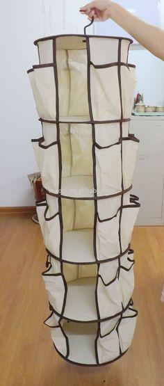 Resultado de imagem para organizador ou sapateira em tecido com molde