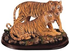 Tiger Collectible Wildlife Animal Figurine Statue Sculpture Model >>> You can find out more details at the link of the image. (It is an affiliate link and I receive commission through sales) Animal Statues, Animal Sculptures, Lion Sculpture, Jurassic Park Toys, Tiger Artwork, Native American Cherokee, Lion Images, Wild Tiger, Male Lion
