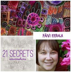Today's special guest is Paivi Eerola who shares her journey from computer engineer to art journal maven! Come join the conversation!