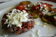 Pizza Burger Patties. Make one batch to eat, freeze the rest for easy weekday lunches. These pack a lot of flavor so they don't need sauce!