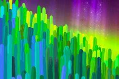'Hue-Cactus' Canvas Print by HeartActivation Canvas Prints, Art Prints, Creative Design, Hue, Cactus, Artist, Art Impressions, Photo Canvas Prints, Artists