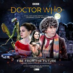 Foe from the Future Blake Ritson, Paul Freeman, Louise Brealey, Big Finish, Audio Drama, Full Cast, It Cast, Bbc Doctor Who, Cd Cover