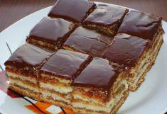 Un desert fin ce se topeste in gura - KFetele Eastern European Recipes, Romanian Food, Romanian Recipes, Sweet Tarts, Food Cakes, Gordon Ramsay, Waffles, Cake Recipes, Easy Meals