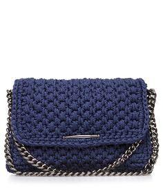 Navy Obsession Dash Crochet Bag