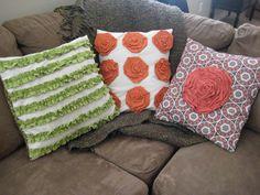 CRAPTASTIC: DIY Knockoff Pillows!