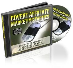 *NEW!* Covert Affiliate Marketing Tactics With Resale Rights (MRR)