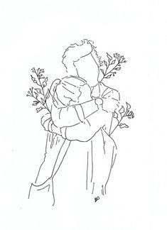 poeticamente flor — couples in love. // for line drawings requests. poeticamente flor — couples in love. // for line drawings requests. poeticamente flor — couples in love. // for line drawings requests. Minimalist Drawing, Minimalist Art, Couple Drawings, Art Drawings Sketches, Aesthetic Drawing, Aesthetic Art, Outline Art, Arte Sketchbook, Couple Art