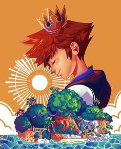 Kingdom Hearts Fanart, Final Fantasy Art, Disney Crossovers, Disney Posters, Jojo's Bizarre Adventure, Geek Stuff, Fan Art, In This Moment, Spam