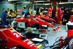 Ferrari Box, Spa 1985