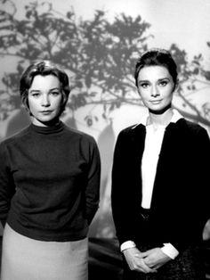 Shirley MacLaine and Audrey Hepburn. The Children's Hour, 1961