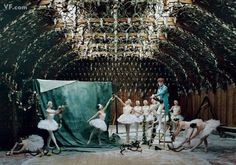 Patrick Wolf and the cygnets of the Ballet West