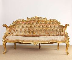 19th Century French Rococo Style Louis XV Settee 2