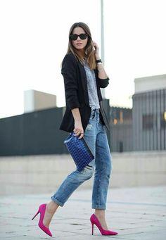 Fashion vibe - Salones Berta ante fucsia Mas34 www.mas34shop.com