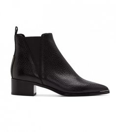 Acne Studios Grained Leather Jensen Chelsea Boots ($550)
