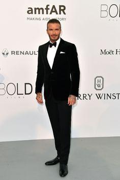 David Beckham -amfAR Gala - HarpersBAZAAR.com