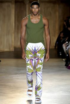 Spring 2012 Menswear - Givenchy Codpiece 2