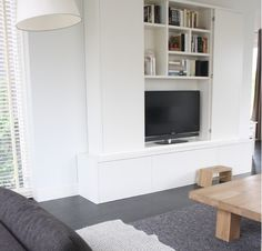 Where you will place the tv?  Behind sliding doors