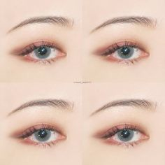 Korea Eye Make Up Idea #Korean #Ulzzang #Makeup #everyou_ Pin By #AkiWarinda
