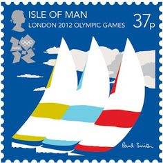 The Nice London 2012 Olympic stamps designed by Paul Smith