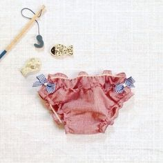 Cotton swimsuit bottom.Handmade in Italy.100% finest cotton.For girls from 3 - 4 T.