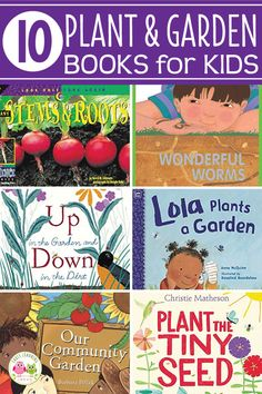 Find the best plant, seed, and garden books for preschoolers. These favorites will be great additions to your classroom library and perfect for your plant theme, garden theme, or spring theme unit and Preschool Garden, Preschool Books, Preschool Activities, Educational Activities, Earth Day Activities, Spring Activities, Plant Life Cycle Worksheet, Teaching Plants, Creative Curriculum