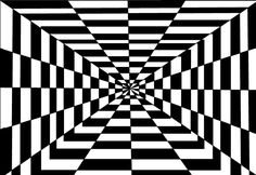 geometric structure this shows combination of two colours Black And White Illusions, Black And White Abstract, Color Mixing Guide, Optical Illusions, Zentangle, Coloring Pages, How To Draw Hands, Mandala, Sketches