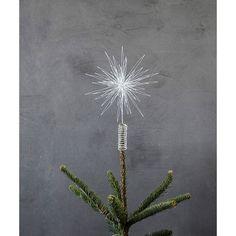 Star toppstjärna 25 cm, vit...